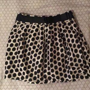 Cute polka dots skirt
